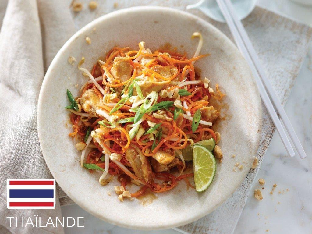 Gueule de bois : en Thaïlande, mangez un pad thaï.