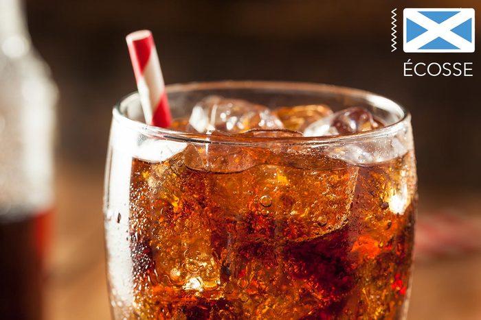 Gueule de bois : en Écosse buvez du Irn bru soda.