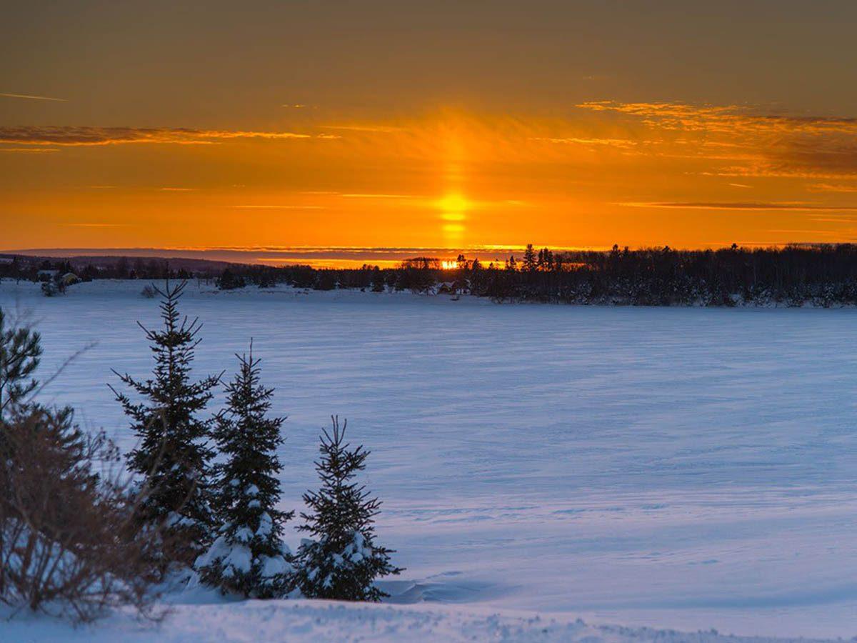 Hiver au Canada : soyez actif à l'Île-du-Prince-Édouard.