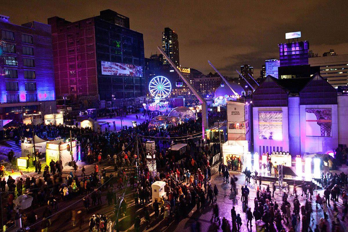 Hiver au Canada : explorez jusqu'à l'aube la Nuit Blanche de Montréal.