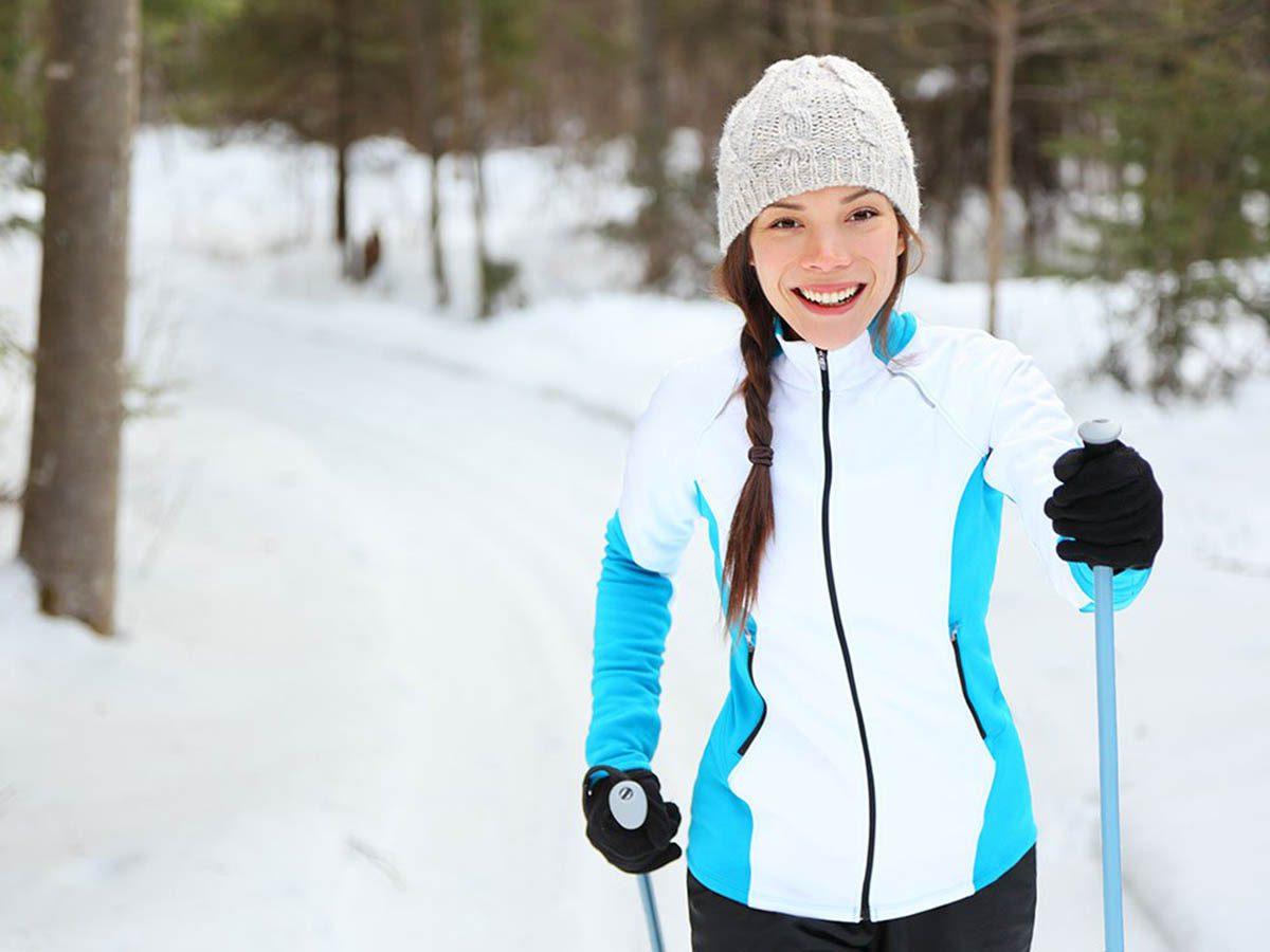 Hiver au Canada : allez skier à Charlevoix.