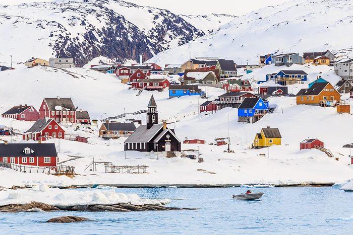 En hiver, partez pour le Groenland.