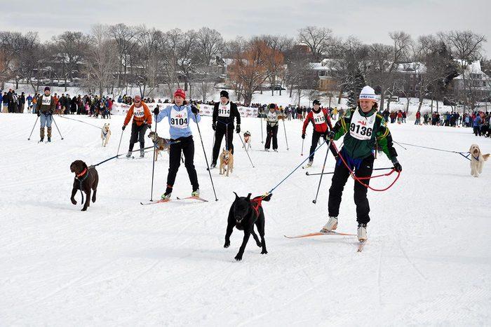 En hiver, visitez Minneapolis et St-Paul dans le Minnesota.