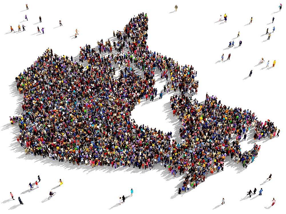 Immigrer au Canada : le pays est une mosaïque culturelle.