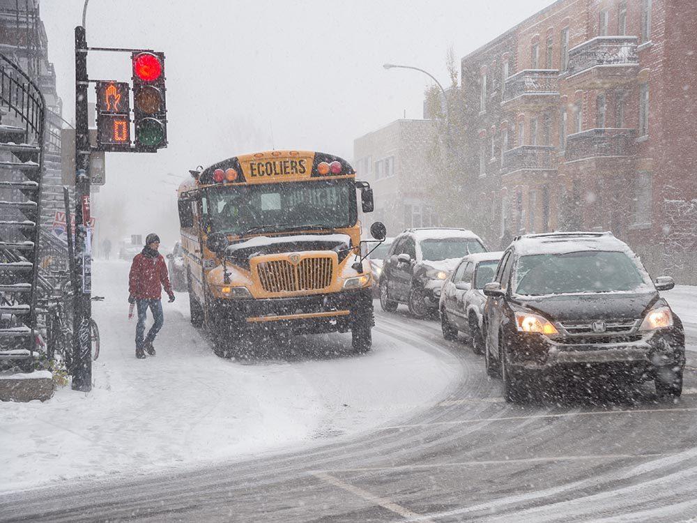 Immigrer au Canada : les 4 saisons sont marquées par des températures extrêmes.