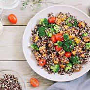 le quinoa est un germe de la famille des chénopodiacées et non une graine.