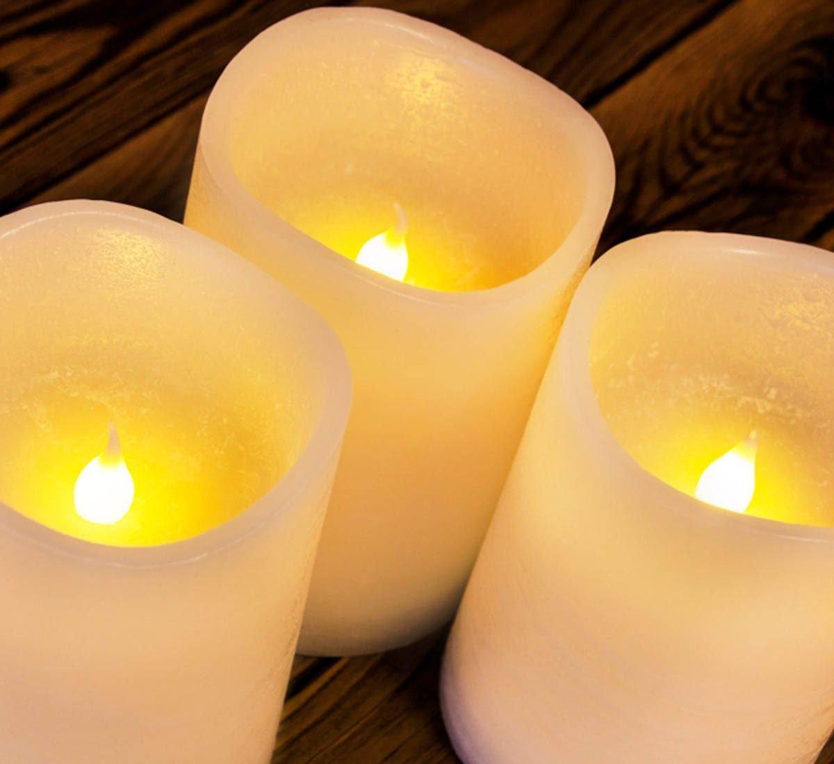Pour une maison plus lumineuse, allumez des chandelles.