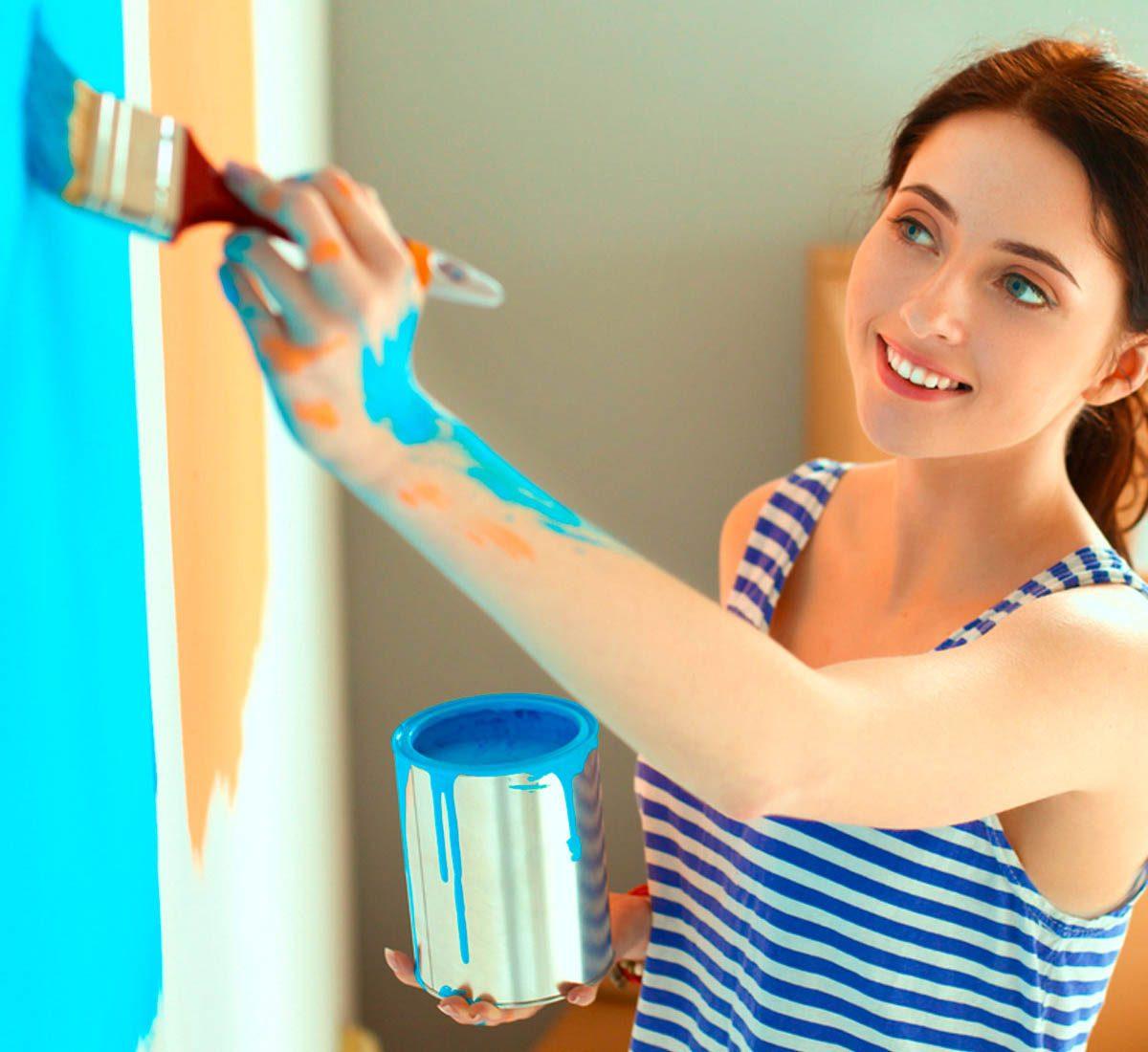 Pour une maison plus lumineuse, repeignez vos pièces de la bonne couleur.