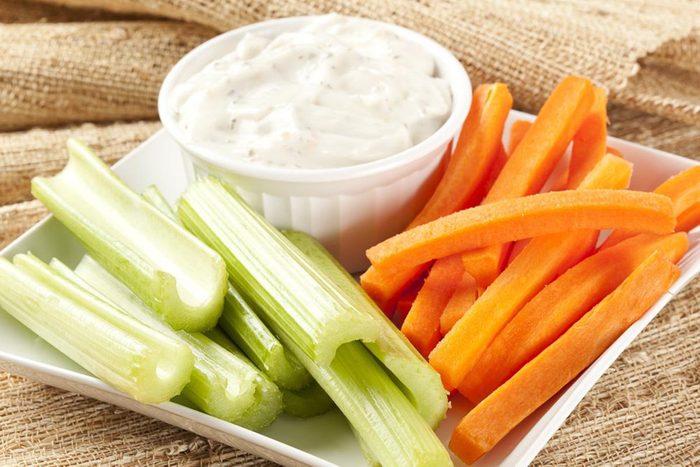 Malbouffe : gardez des aliments sains à portée de main.