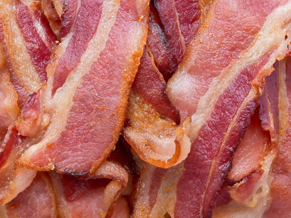 La mijoteuse ne dois jamais servir à cuire du bacon.