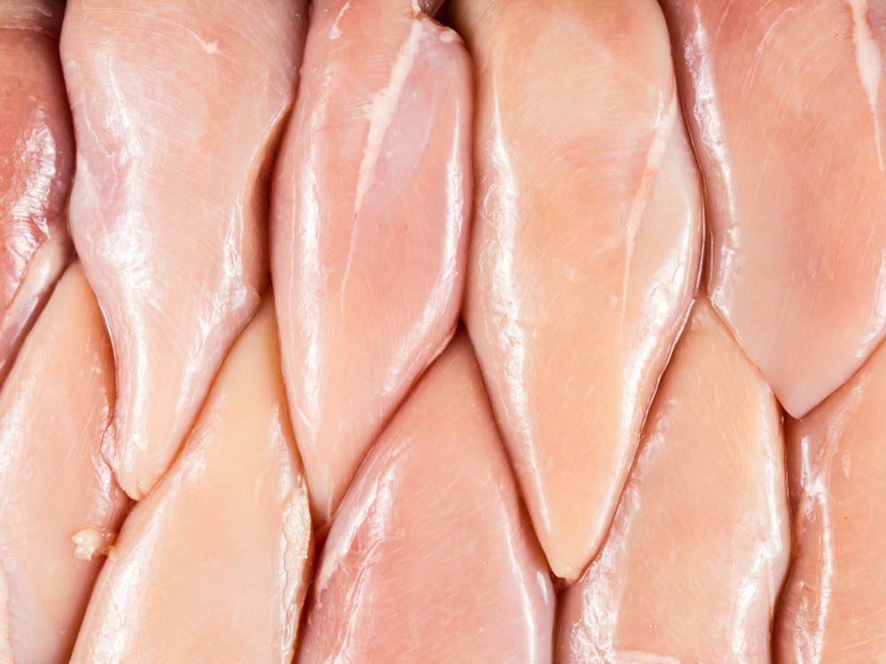 La mijoteuse ne dois jamais servir à cuire des poitrines de poulet.