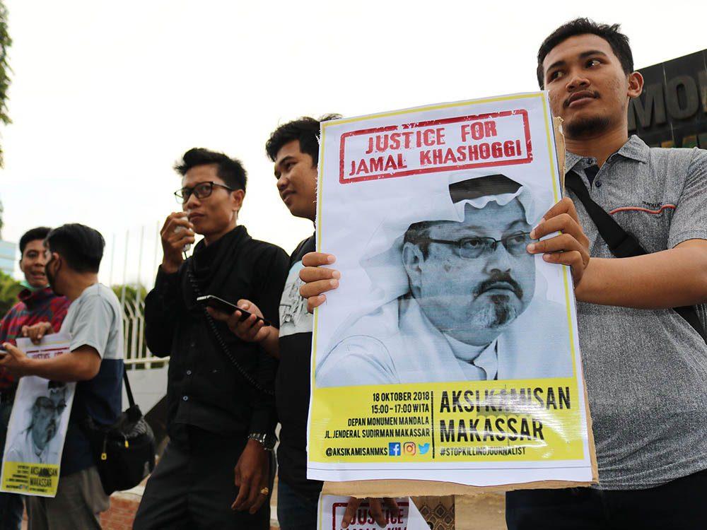 Mystères non résolus de l'année : la disparition de Jamal Khashoggi.