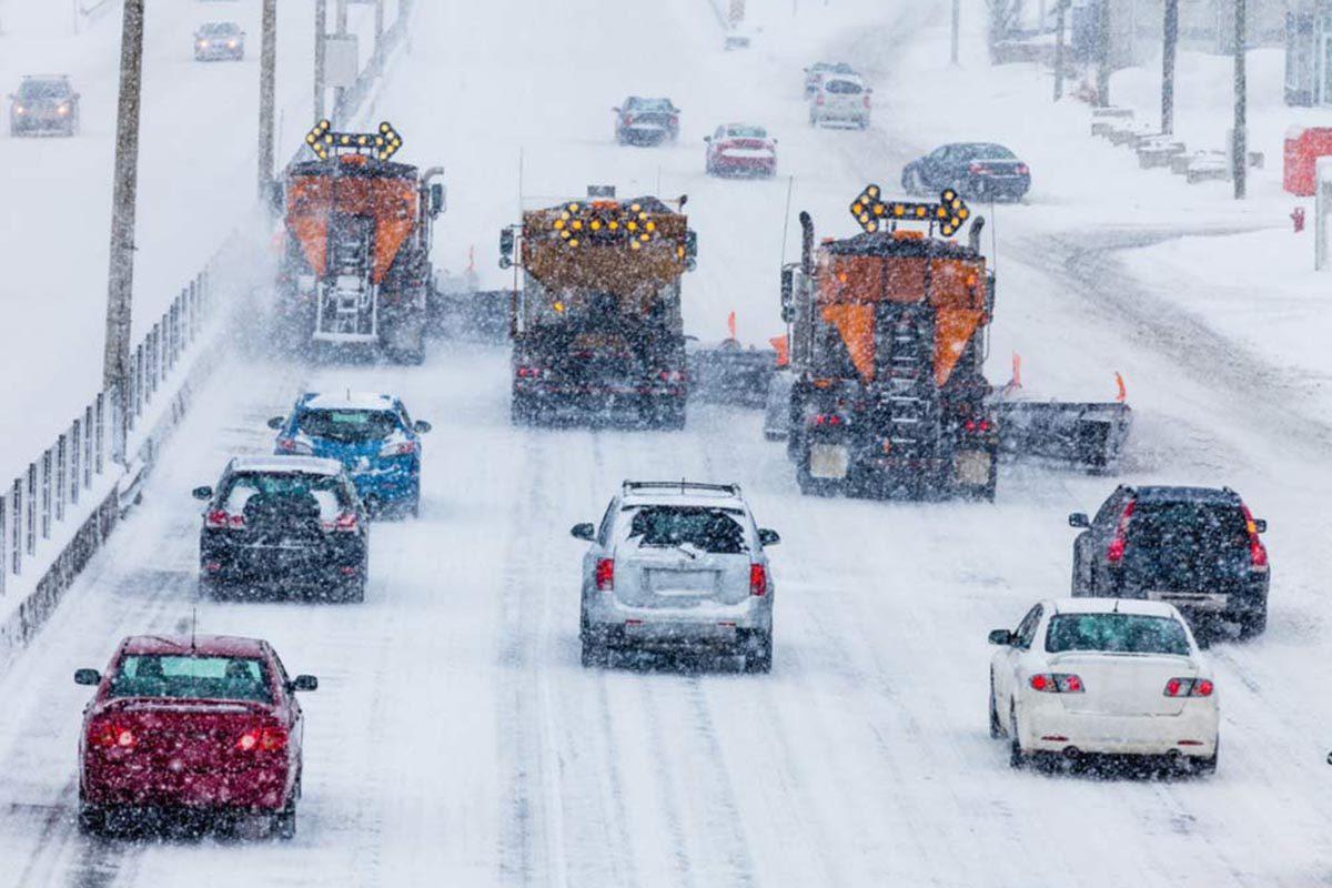 La neige sous forme de tempête n'est pas forcément un blizzard.