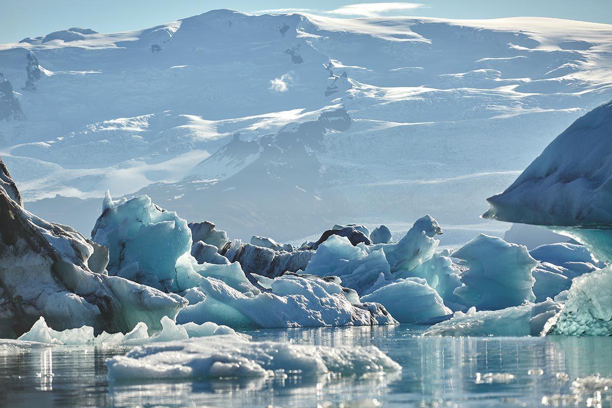 La neige et la glace sont les plus grandes source d'eau douce sur Terre.