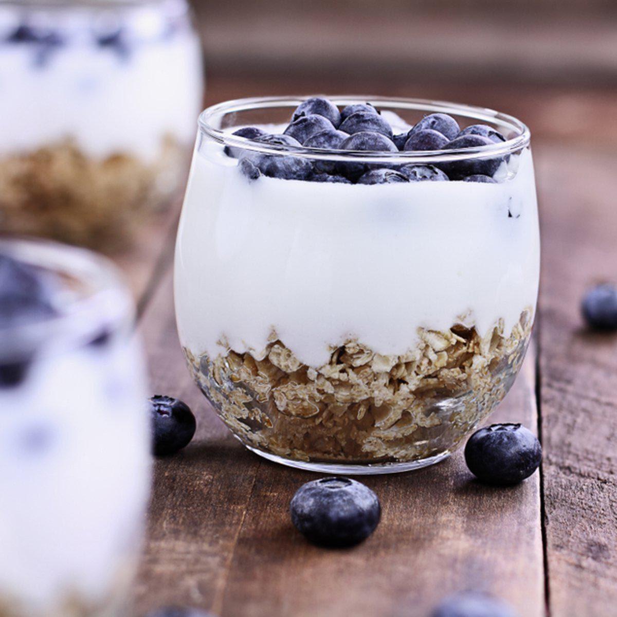 Des protéines peuvent être ajoutées à votre smoothie avec du kéfir.