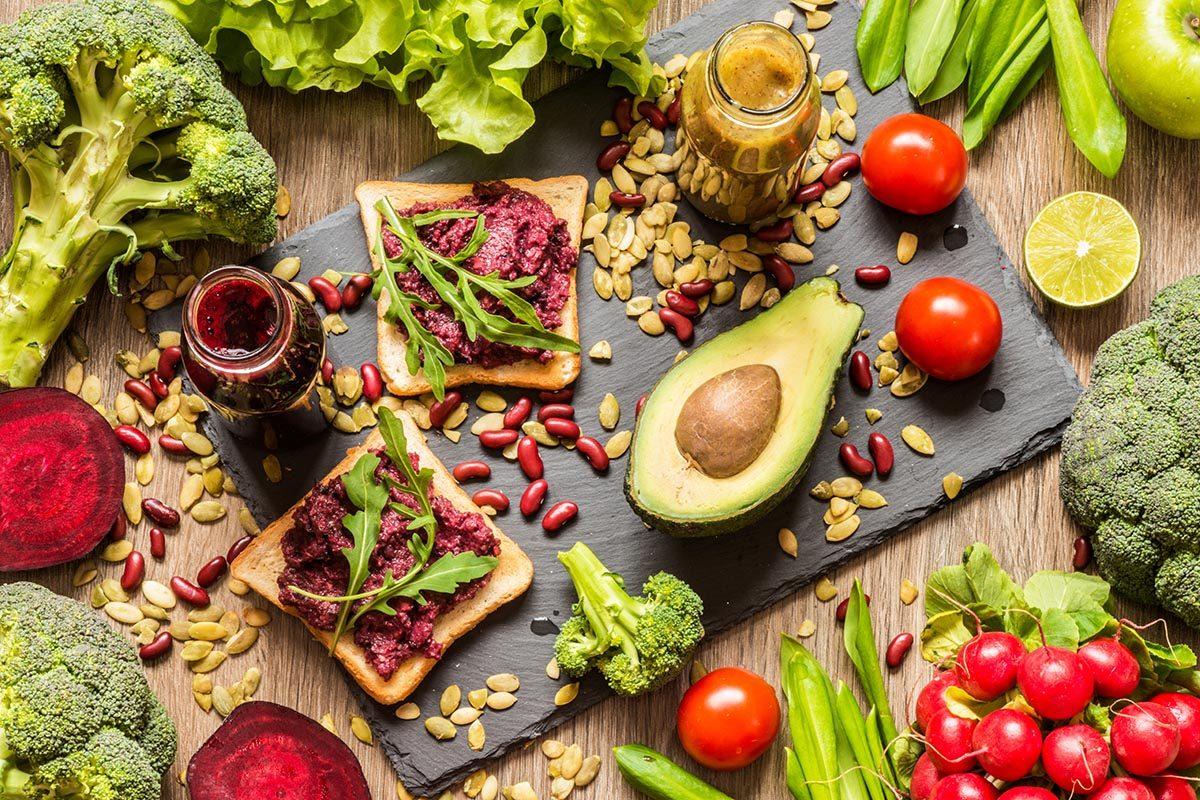 Le régime végétalien est facile à adopter.
