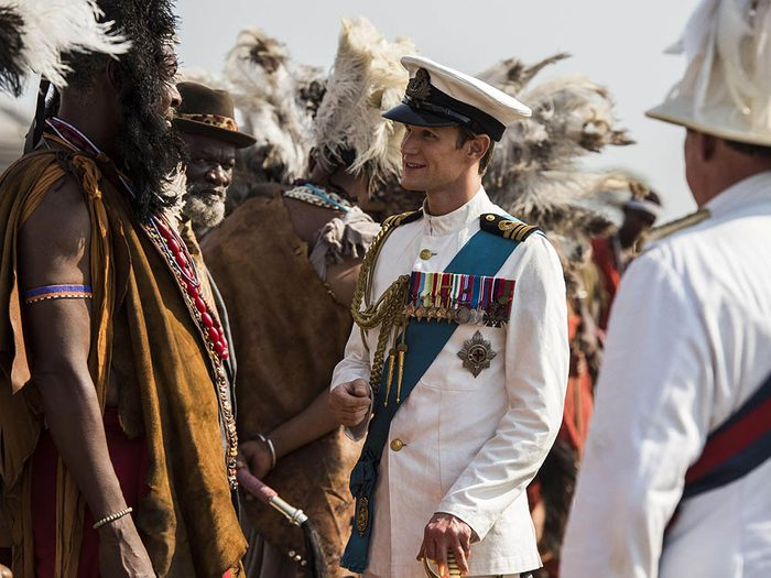 Le mari de la reine Élisabeth II n'a pas calmé un éléphant.