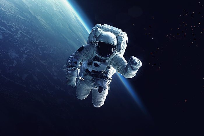 La spiruline pourrait être une source de nutriment pour les astronautes.