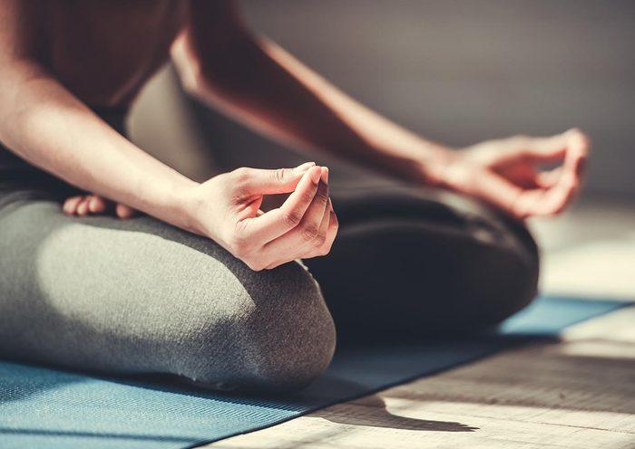 Stress et anxiété : essayez la méditation.