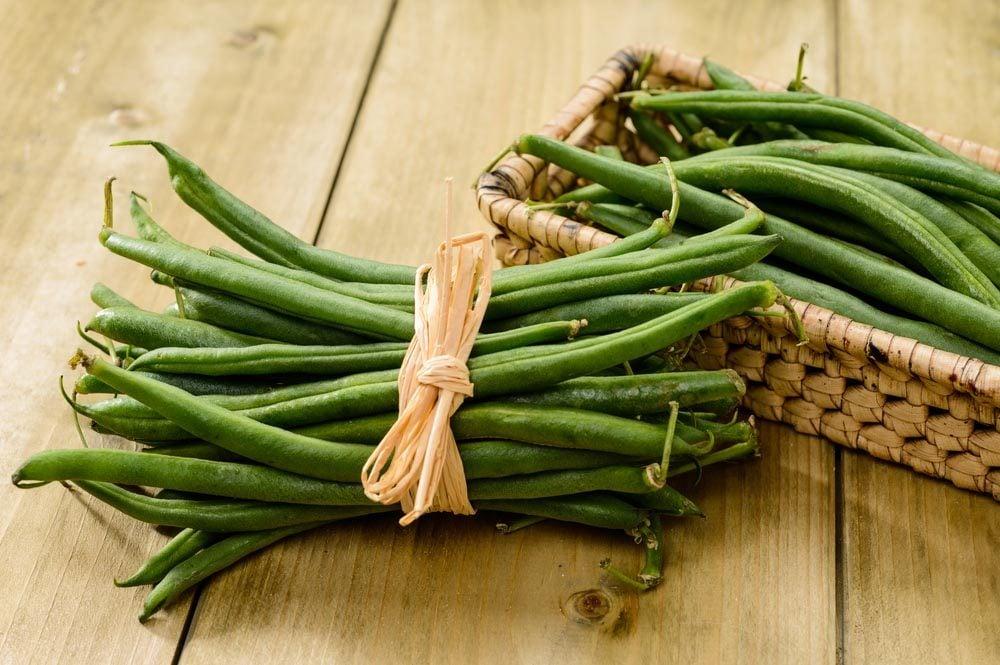 Superaliments pour avoir une belle peau : les haricots verts.