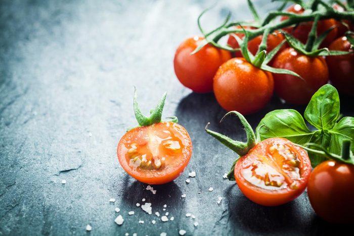Superaliments pour avoir une belle peau : les tomates.