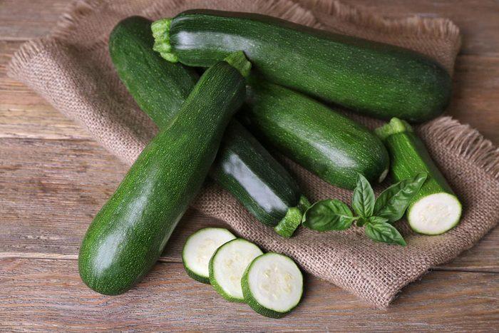 Superaliments pour avoir une belle peau : les zucchinis.