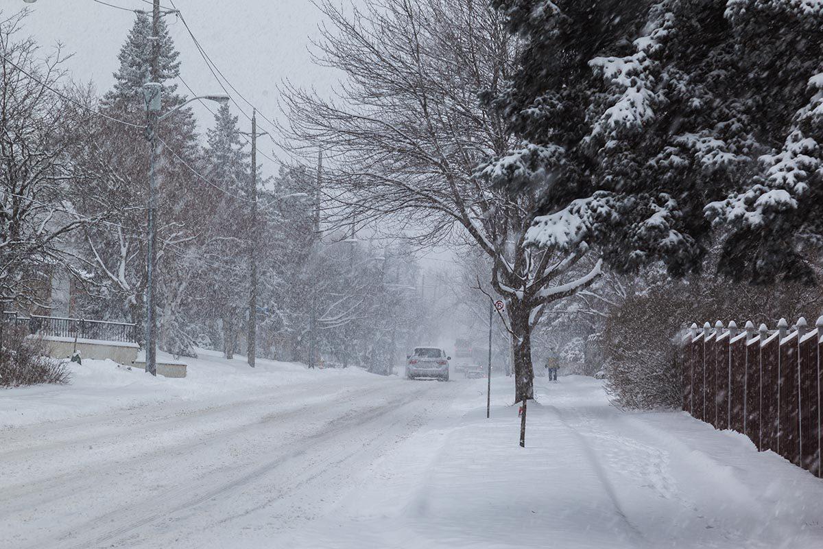 La tempête de neige de décembre 2013 est mémorable.