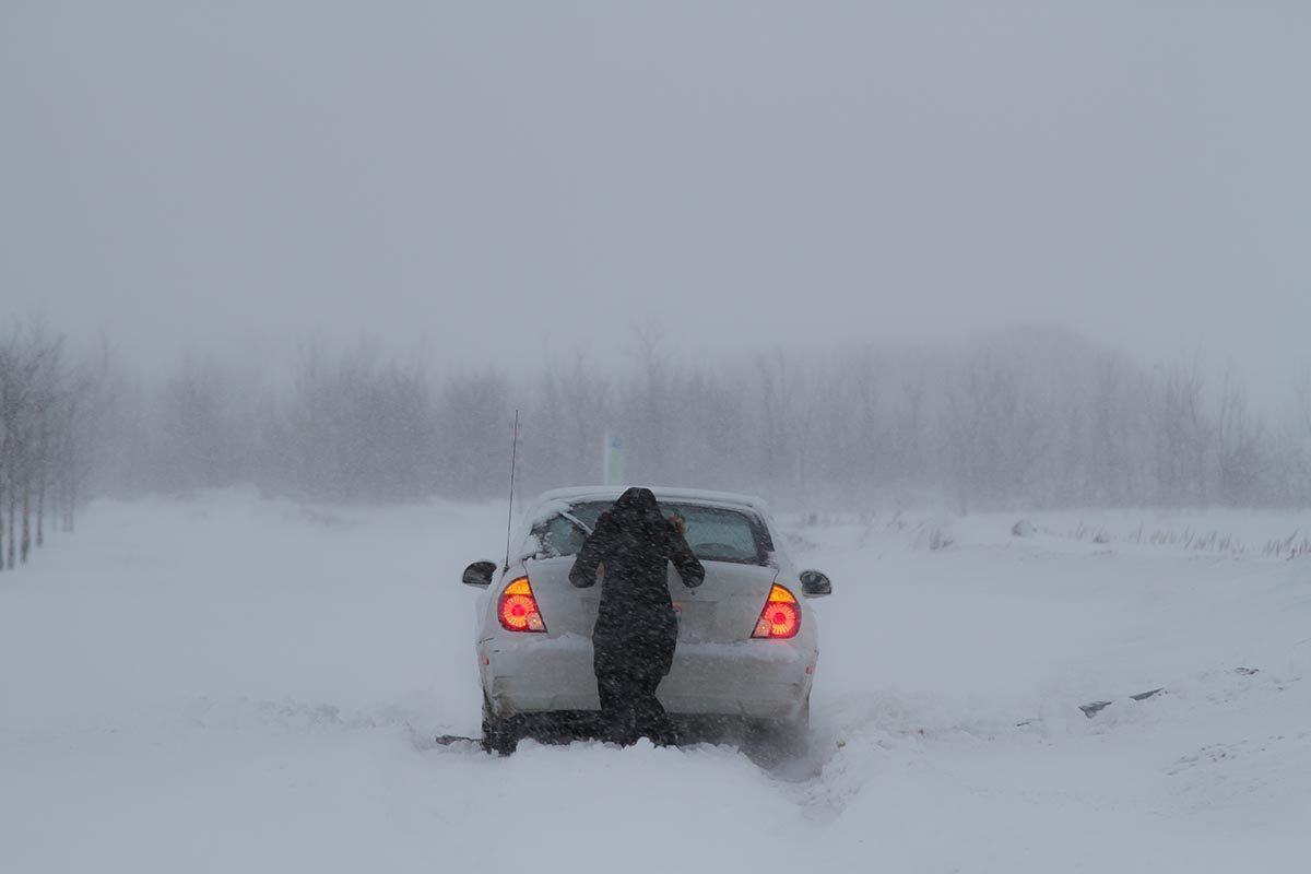 La tempête de neige de février 1998 est mémorable.
