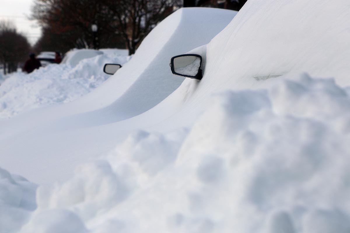 La tempête de neige de février 1999 est mémorable.