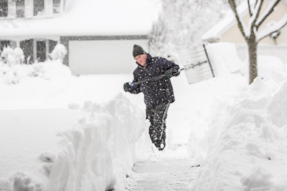 La tempête de neige de février 2004 est mémorable.