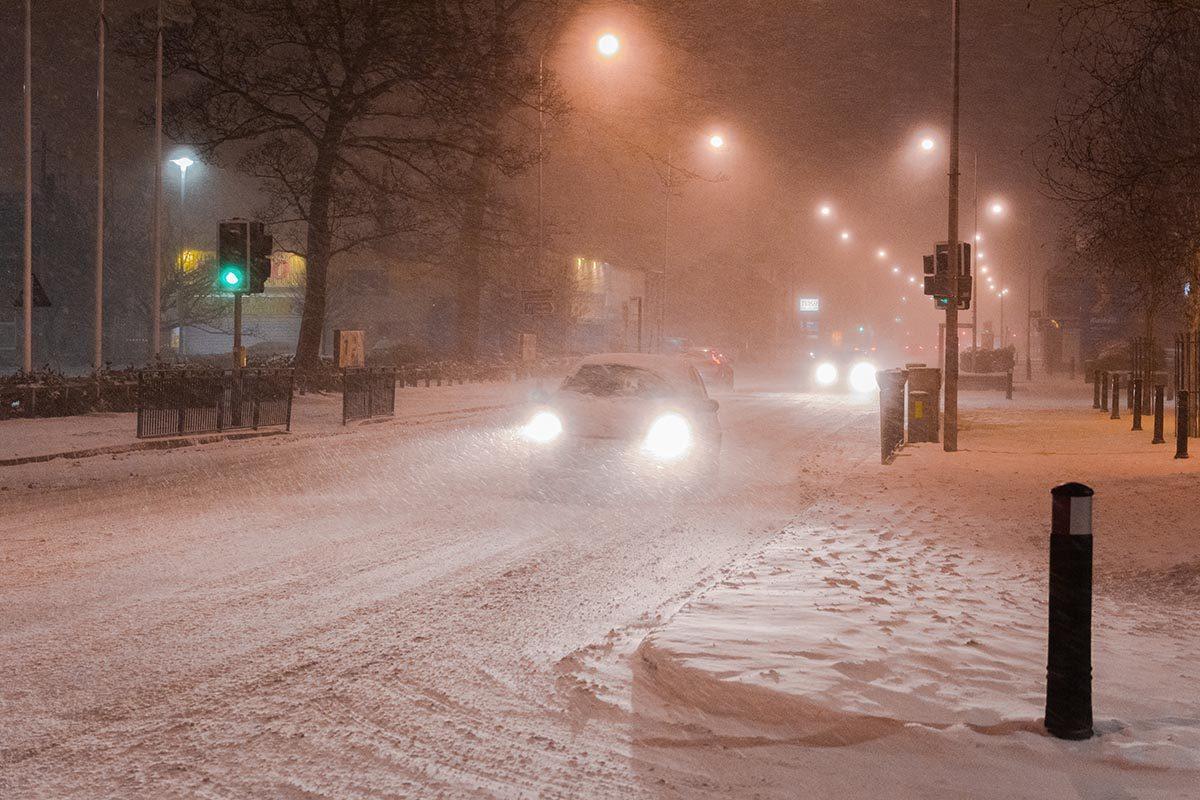La tempête de neige de février 2007 est mémorable.