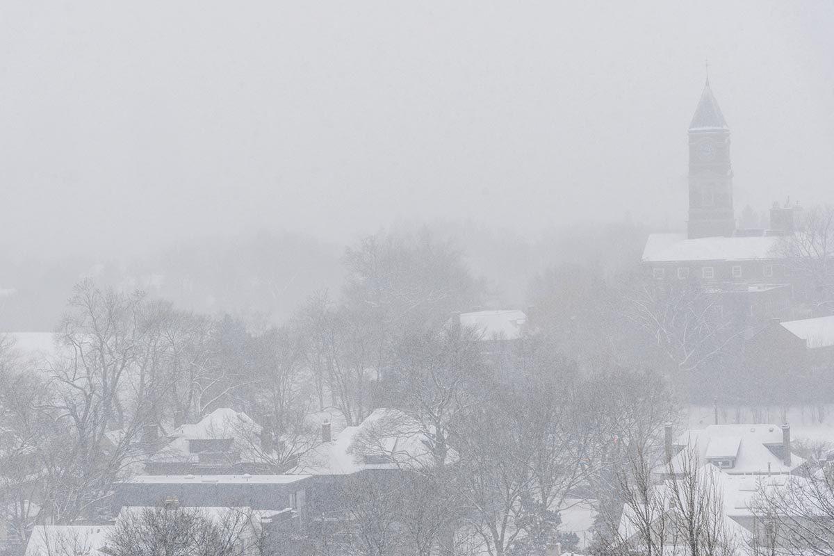 La tempête de neige de janvier 1999 est mémorable.