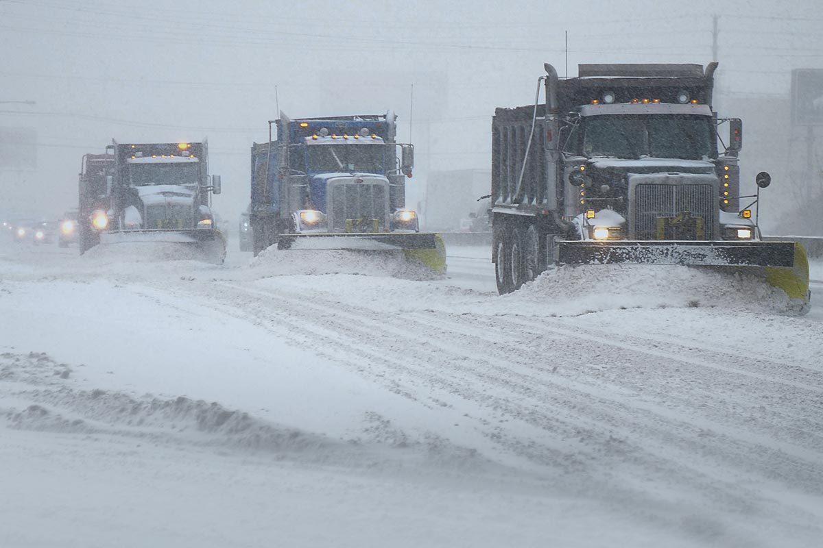 La tempête de neige de mars 2014 est mémorable.