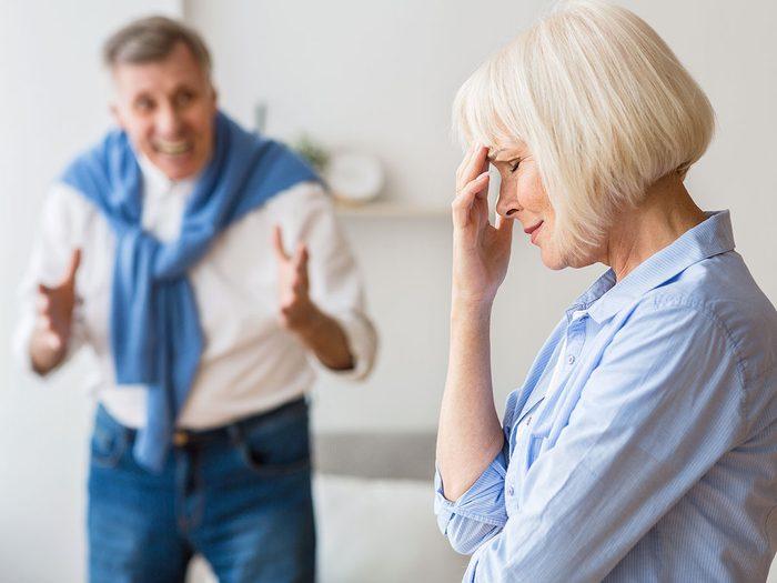 Violence conjugale: vous avez toujours tort.