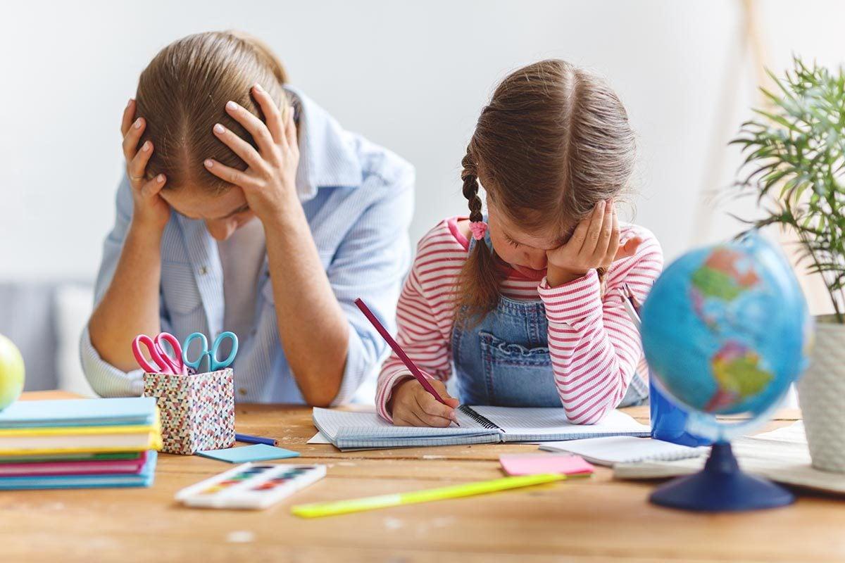 Pour aider vos enfants à faire leurs devoirs, l'aide d'un professeur particulier peut être nécessaire.