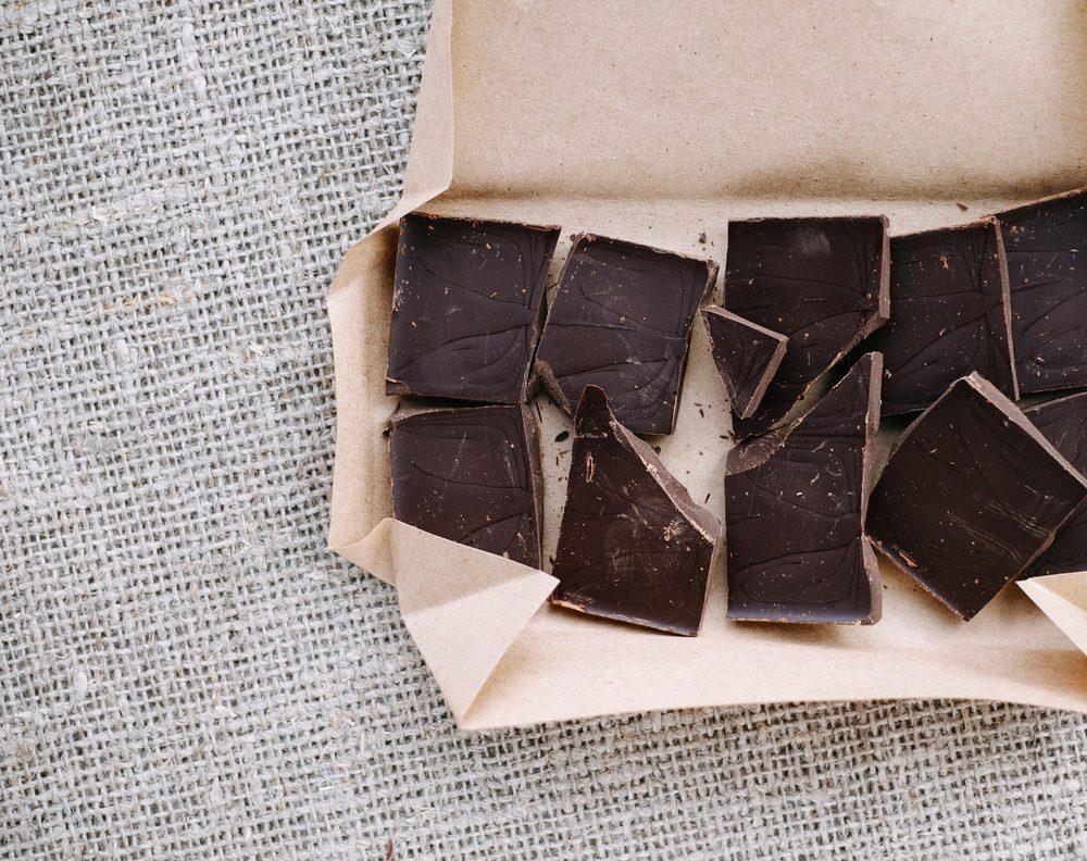 Aliment anti-cellulite : le chocolat noir.