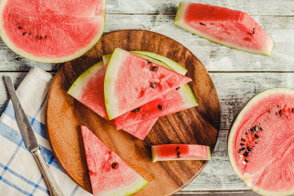 Aliment anti-cellulite : la pastèque.