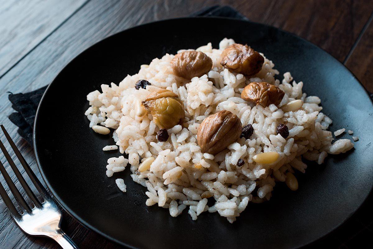 Recettes aphrodisiaques : gâteau de riz aux châtaignes et à la sauge pour stimuler la libido.