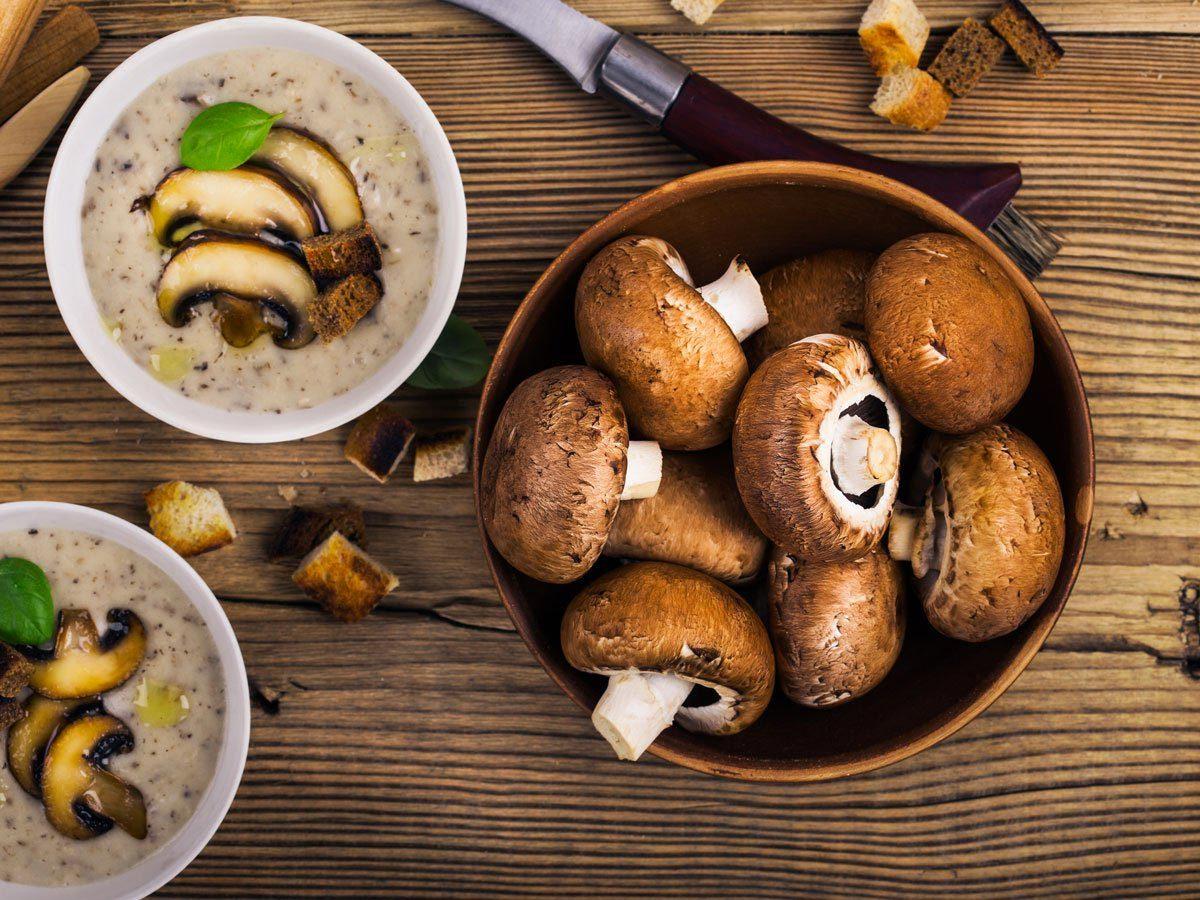 Le champignon augmente l'énergie.