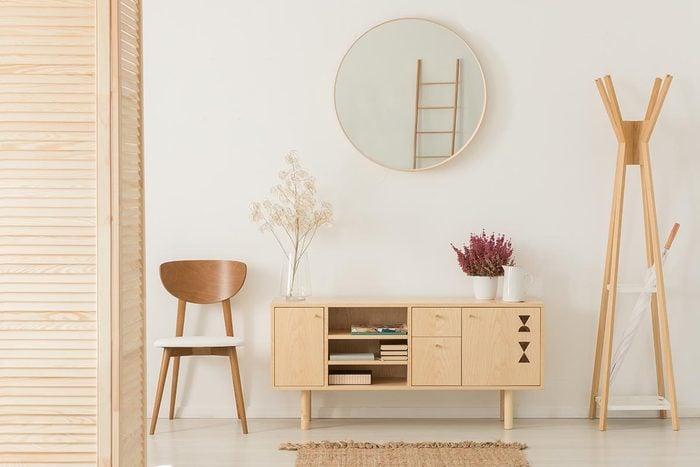 Pour une déco minimaliste, ne surchargez pas la décoration.