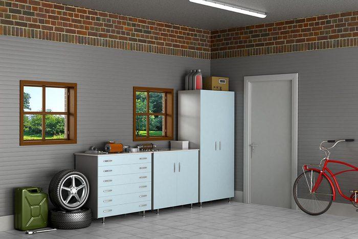 Pour une déco minimaliste, mettez de l'ordre dans votre garage.
