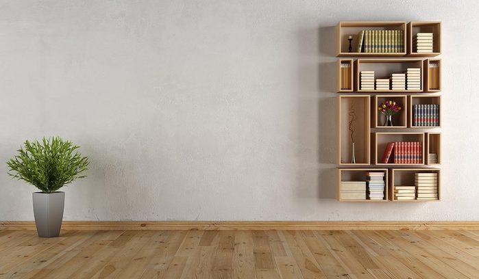 Pour une déco minimaliste, classez vos livres.