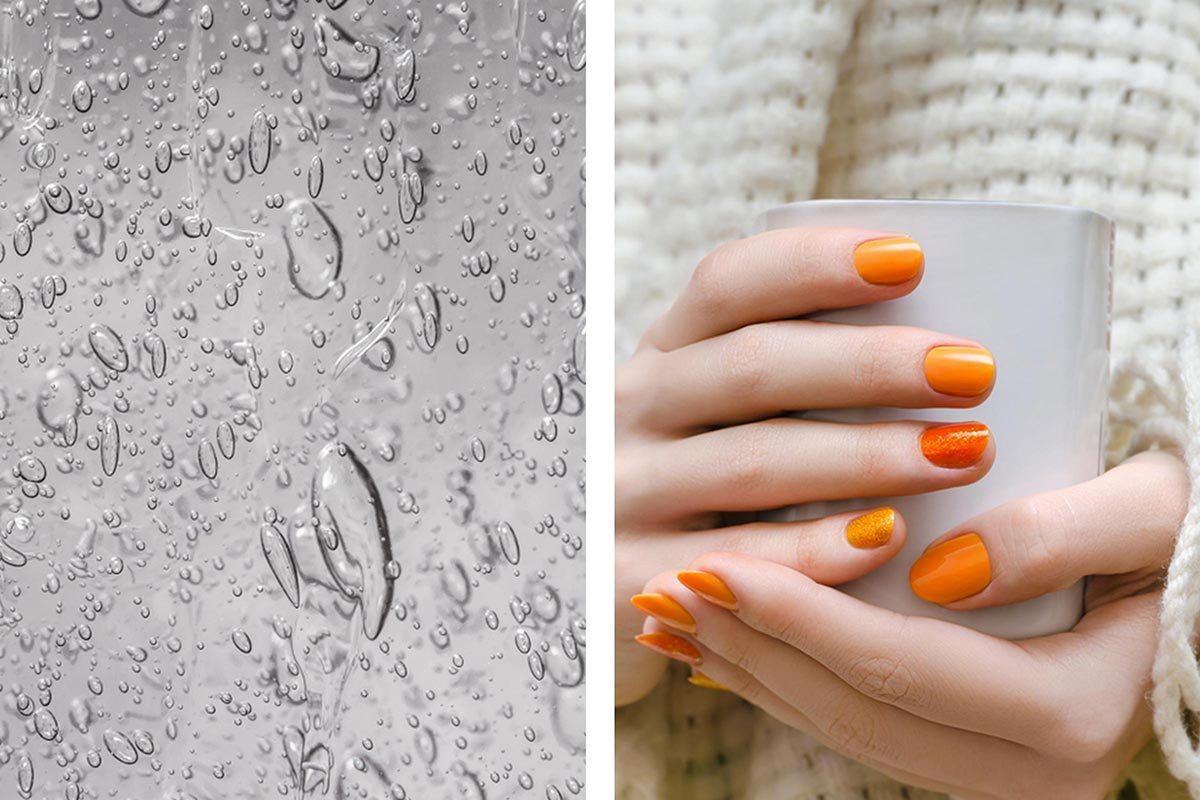 Le désinfectant pour les mains peut servir à retirer du vernis à ongles.