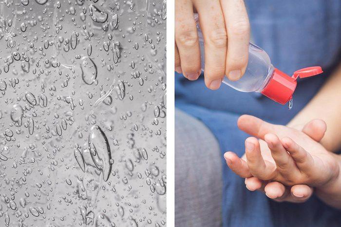 Le désinfectant pour les mains est pratique durant la saison du rhume et de la grippe.