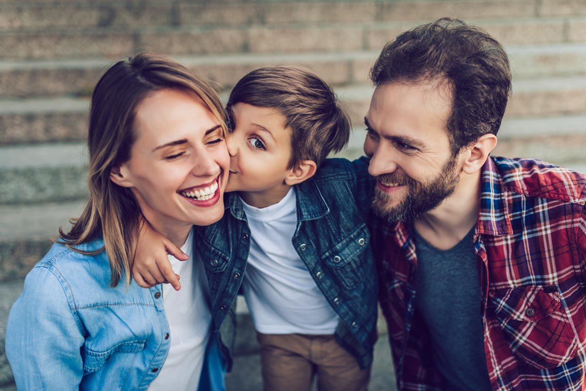 Même en cas de divorce, gardez de bonne relations avec votre ex.