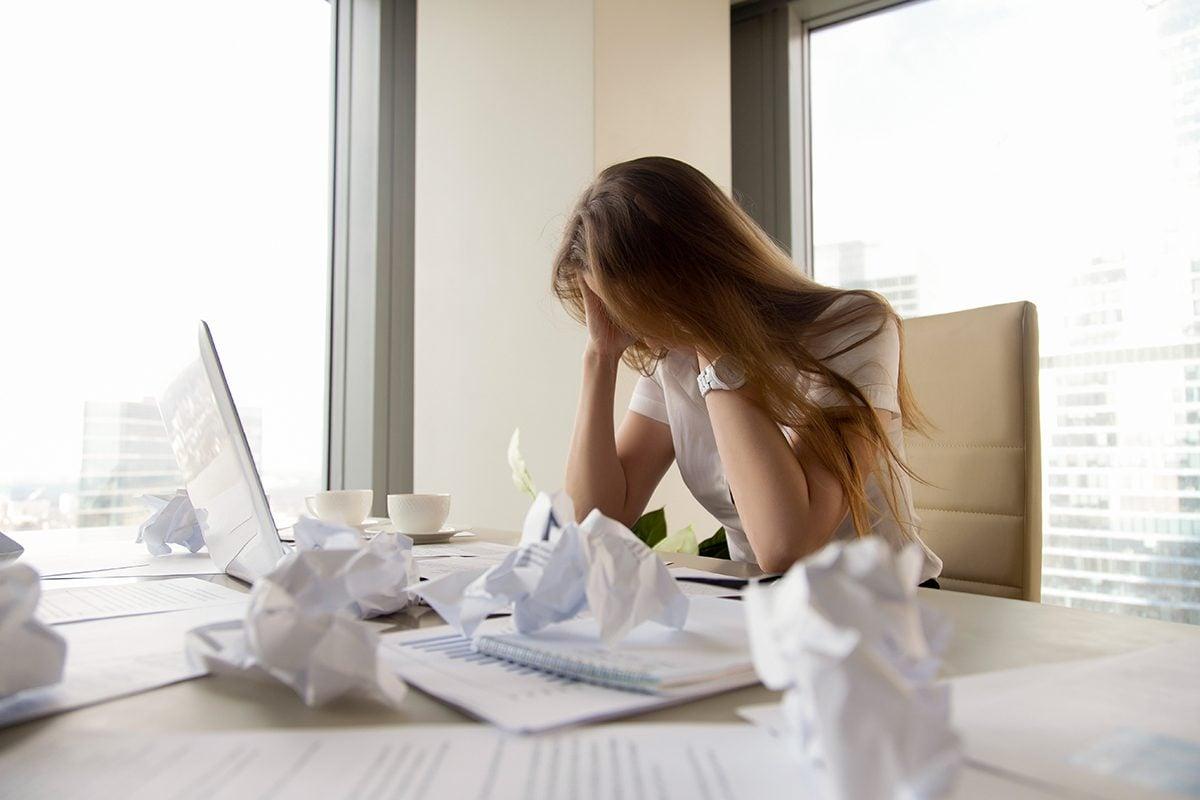 Votre emploi ne vous convient plus si vous n'êtes plus productif.