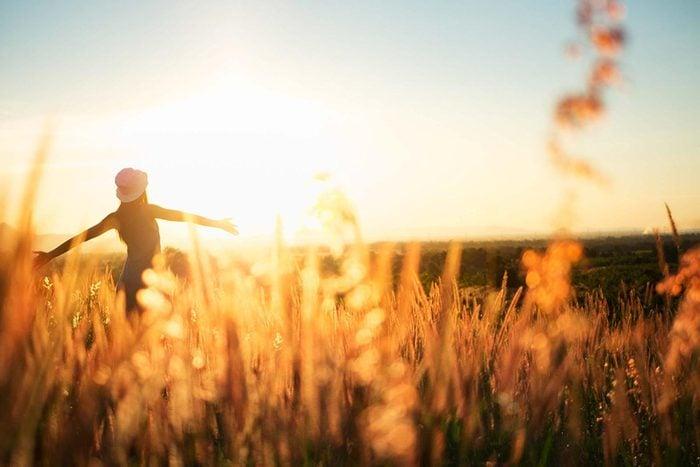 L'espérance de vie peut augmenter en s'exposant au soleil.