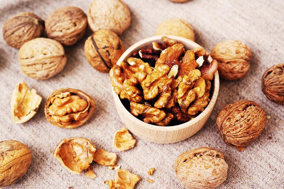 L'espérance de vie peut augmenter en mangeant des noix.