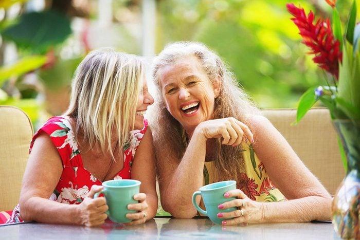 L'espérance de vie peut augmenter en riant.