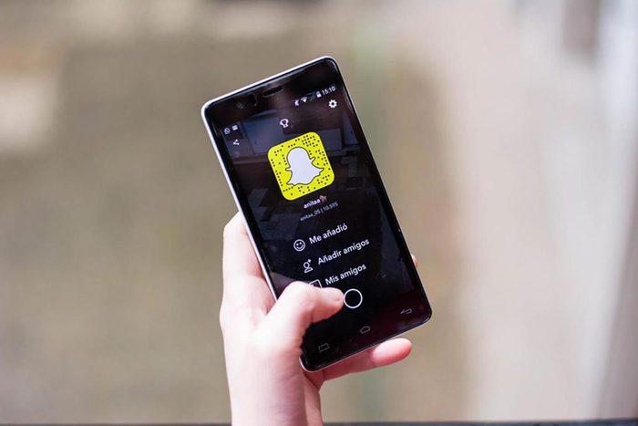 Snapchat est facile à pirater.